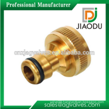 High quality manufacturer forged female threaded brass 1/4 or 3/4 tube garden hose quick connector for water