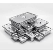 Gastronormbehälter aus Edelstahl mit mehreren Spezifikationen