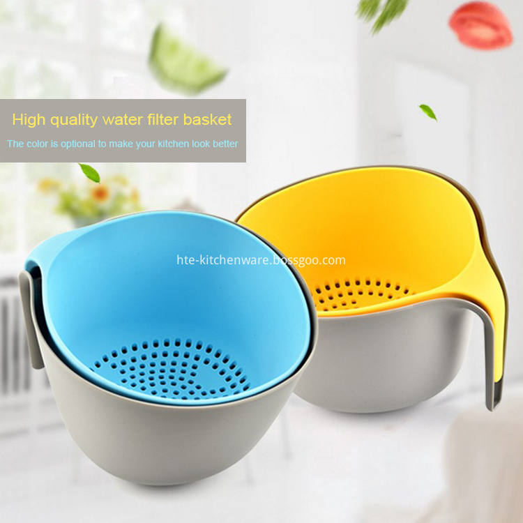 Double Layer vegetable Fruit washing draining basket