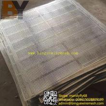 Malla perforada de aluminio para decoración