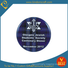 Centenary Dinner Souvenir Tin Button Badge with Safety Pin From China