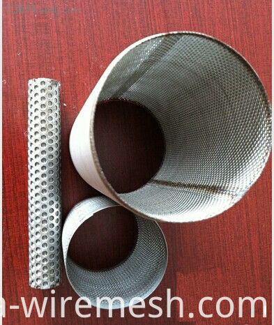 Cylinder shaped filter tube to make filter equipment (1)