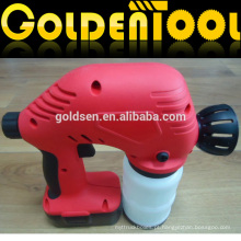 Cordless 18V recarregável elétrica portátil mini pintura máquina de pulverização Wireless Ni-Cd bateria Powered Spray Gun