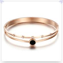 Joyería cristalina joyería de moda brazalete de acero inoxidable (br562)