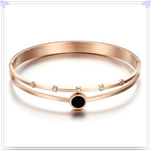 Bijoux en cristal Bijouterie à la mode Bracelet en acier inoxydable (BR562)