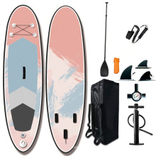 Superior Stable foam soft top surfboard inflatable paddle board sup stand up paddle board with all accessaries