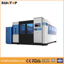2000W Ipg Faser Laser Schneidemaschine / 18mm Kohlenstoffstahl Faser Laser Schneidemaschine