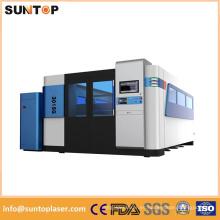 Máquina de corte del laser de la fibra del Ipg 2000W / máquina de corte del laser de la fibra de acero del carbón de 18m m