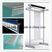 Пластичный профиль Штранг-прессования алюминиевый профиль Штранг-прессования PVC
