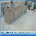 Hesco bastion for protection fence
