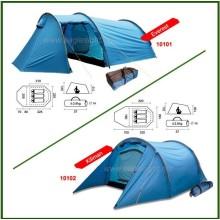 Tente de camping Safari en plein air pour trois personnes