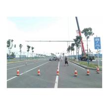 8 Meter Galvanized Traffic Pole Monitoring pole