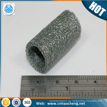 Stainless steel compressed knitted wire mesh gasket/mufflers /silencers