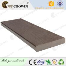 Revestimiento de suelo exterior impermeable wpc deck impermeable al aire libre
