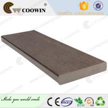 Outdoor bridge environmental - friendly waterproof wpc deck flooring
