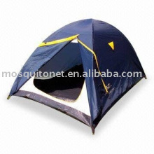 Tent with zipper and window