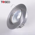 12V 230V mr16 gu10 aluminum round spotlight recessed  led downlight housing fixture