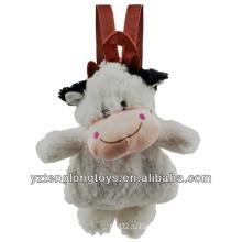 Фабрика оптового животного Shaped Плюшевые рюкзак корова Рюкзак