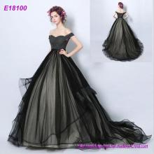 Ropa de mujer Fabricantes Vestido de noche Proveedor Vestido de noche de lujo