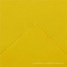 Rofessional de la bolsa de algodón Easy Clean 255GSM tela de tela amarilla