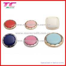 Fancy Design Metal Buttons with Colorful Gem Stone (TC-BU052)
