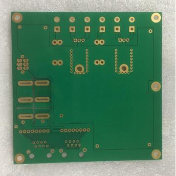 3 layer 1.6mm  3OZ Green Solder PCB