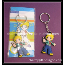 Key Chain with Paper Card-13