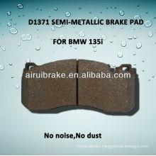 D1371 semi-metallic brake pad for 135i