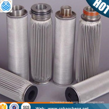 stainless steel Pleated Panel Air Filters/Pleated Filter Cartridges