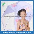 Tela e plástico Canopy com impressão Beautiful Design Kids Umbrella