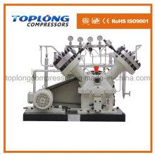 Compresor del diafragma Compresor del oxígeno Compresor del nitrógeno del impulsor Compresor del helio Compresor de alta presión del impulsor (Gv-18 / 4-150 Aprobación del CE)