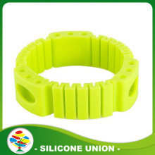 Promotional best silicone mosquito repellent bracelet