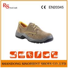 Chaussures de sécurité en cuir suédé Shos Italy / Chaussures de sécurité industrielles pour hommes