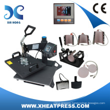 8in1 heat transfer machine, Combo heat press machine,hot press digital printer