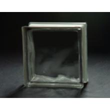 190 * 190 * 80mm grau bewölkt Glasblock