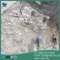 Active and passive protection system for mountain protection