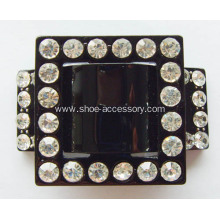 Acrylic Rhinestone Dress Buckle, Shoe Buckle