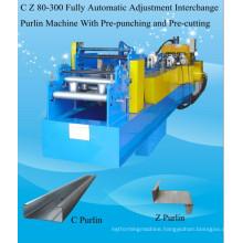 CZ Interchangeable Purline Machine, CZ Purline Forming Machine