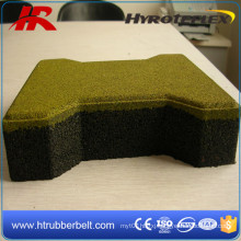 Waterproof Competitive Prices Dog Bone Rubber Tiles