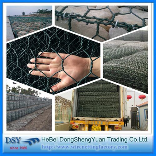 Hexagonal Gabion Box/Gabion Wire Mesh