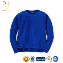 Nuevo diseño de lana suéter para niña, bebé niña suéter