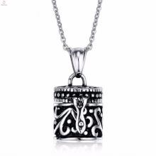 Ashespendants de plata baratos del nuevo de la cremación del diseño para la fabricación de la joyería
