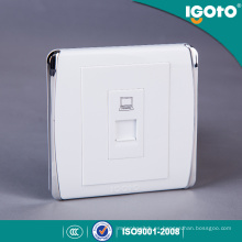 Tomacorriente de pared de datos Igoto British Style RJ45 Outlet