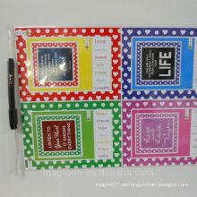 Sets de tablero de encargo de la estampilla del molde de la aduana de China para los regalos promocionales