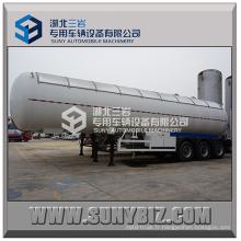 56000L Trois essieux à 12 roues Chine GPL Transport Réservoir à pression / GPL Transport Tank Semi-remorque / Nouveaux GPL Transport Truck Tanks