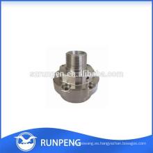 Piezas de recambio de aluminio
