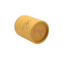 Wholesale Luxury Custom Logo Cylinder Round Rigid Cardboard Paper Gift Box Tube Packaging
