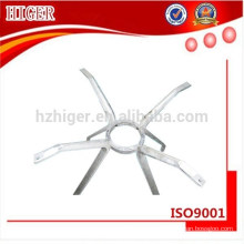fundición a presión de aluminio de la pieza de la silla, piezas de los muebles