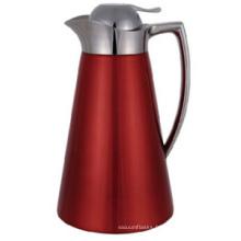 Pot à café en acier inoxydable avec rondelle en verre Sgp-1000k-C