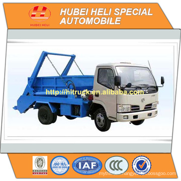 DONGFENG 4x2 6 M3 trash collecting truck recycling type 120hp